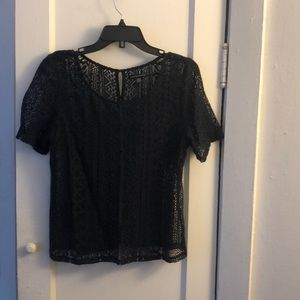 American Eagle lacey see through blouse!